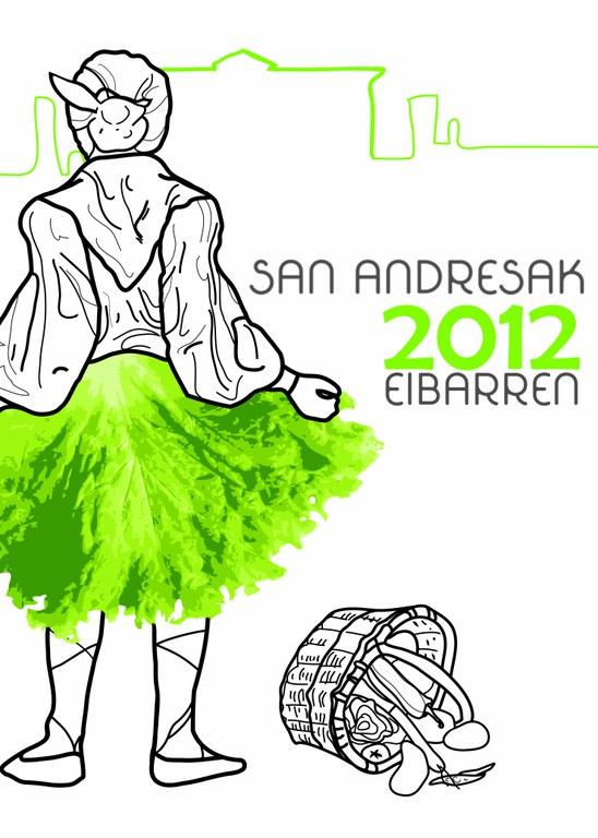 """"""" Sanandresak 2012 Eibarren"""" kartel lehiaketako erabakia"""