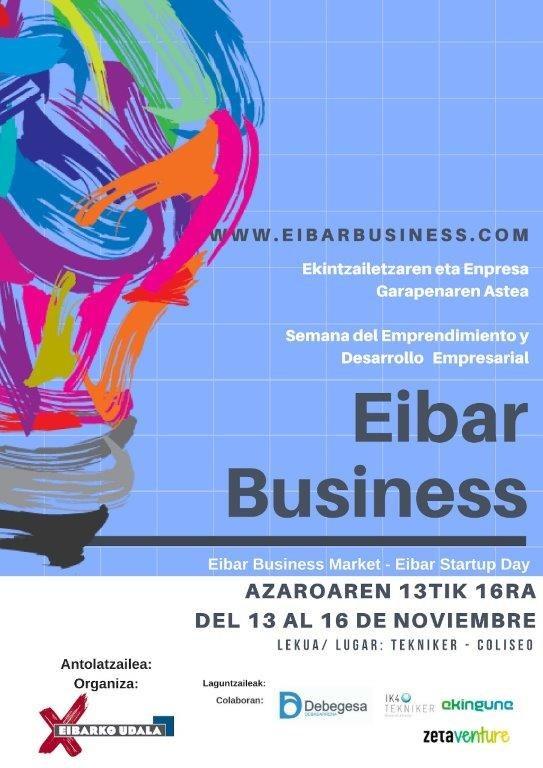 Udalak Eibar Business Market-en II. edizioa jarri du martxan: Industria, Merkataritza eta Turismoko Ministro andrea egongo da bertan