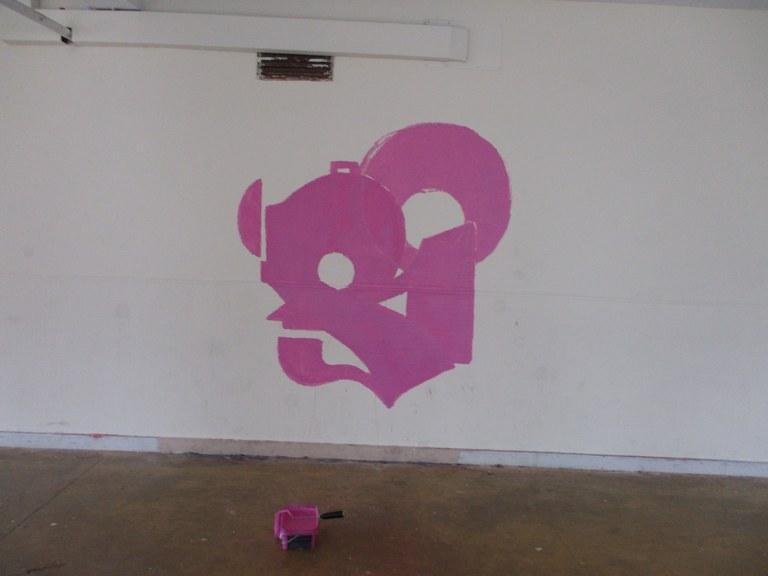 Udaltzaingoak lau grafitigile harrapatu ditu pintadak egiten ari zirela