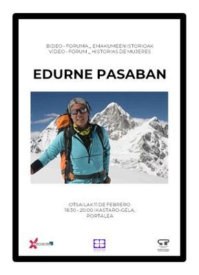 Bideo Foruma Emakumeen istorioak: Edurne Pasaban