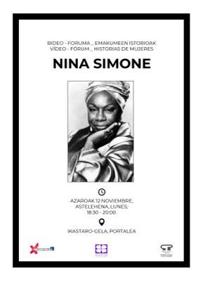 Bideo Foruma Emakumeen istorioak: Nina Simone