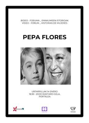 Emakumeen istorioak: Pepa Flores - Marisol @ Portaleko ikastaro gelan