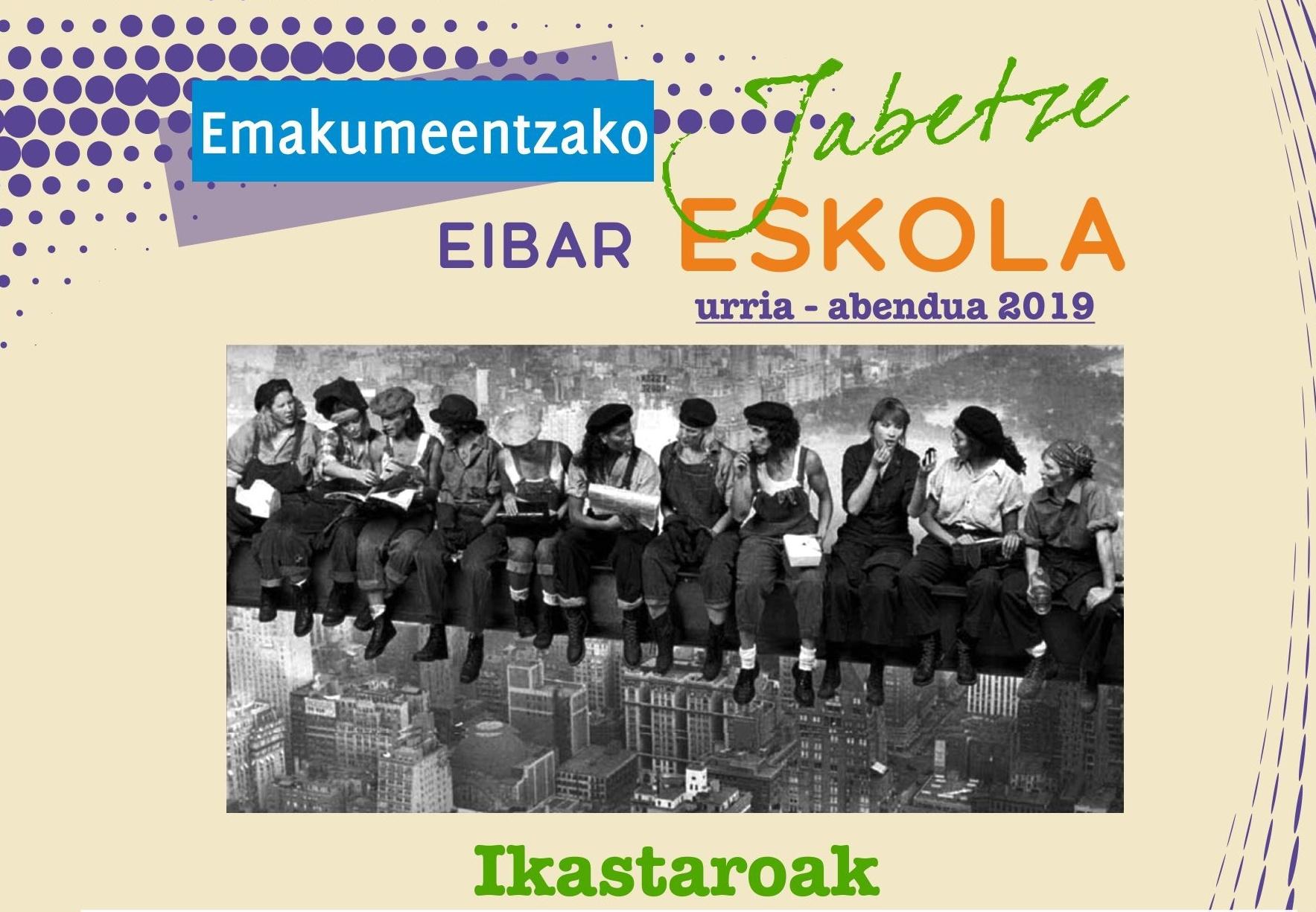 Udazkeneko Jabetze Eskolako ikastaroetan izen-emateko epea zabalik irailaren 20ra arte