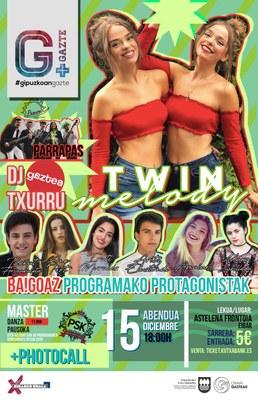 Gipuzkoa Gazte Tour: Parrapás + Bagoaz + Twin Melody + DJ Txurru
