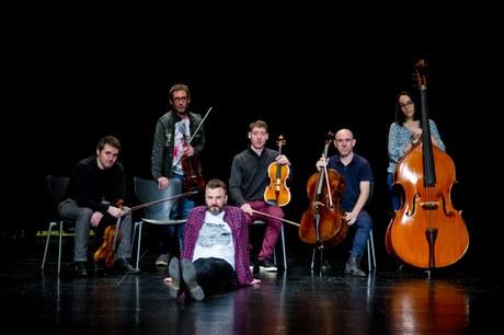Kontzertua: Harian - Eñaut Elorrieta & Kaabestri String Ensemble @ Coliseoan