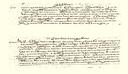 XVI. mendeko agiria (circa 1570), Eibarko hiri-gutuna jasotzen duena. RAH (Vargas Ponce bilduma)
