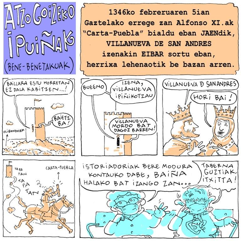 """""""Atzo goizeko ipuinak"""", Jose Antonio eta Martin Azpilikueta"""