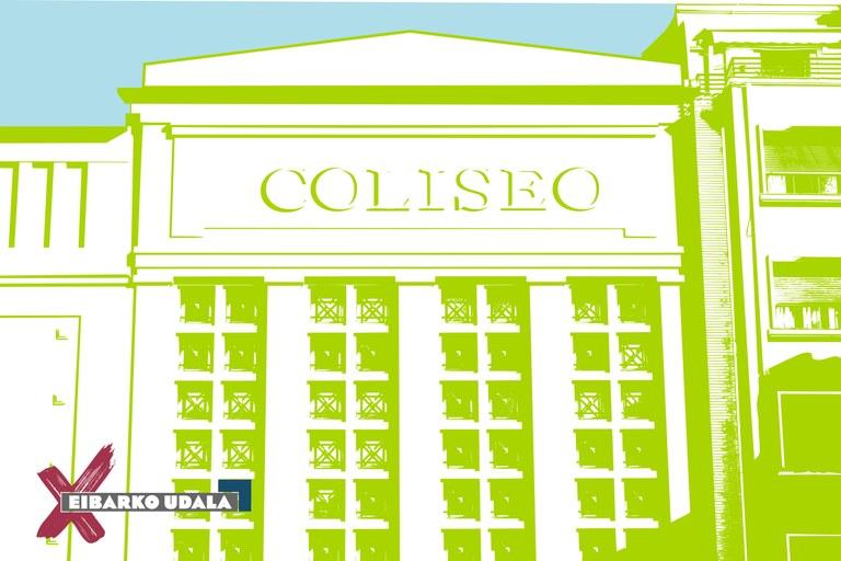 Coliseoaren Laguna txartela