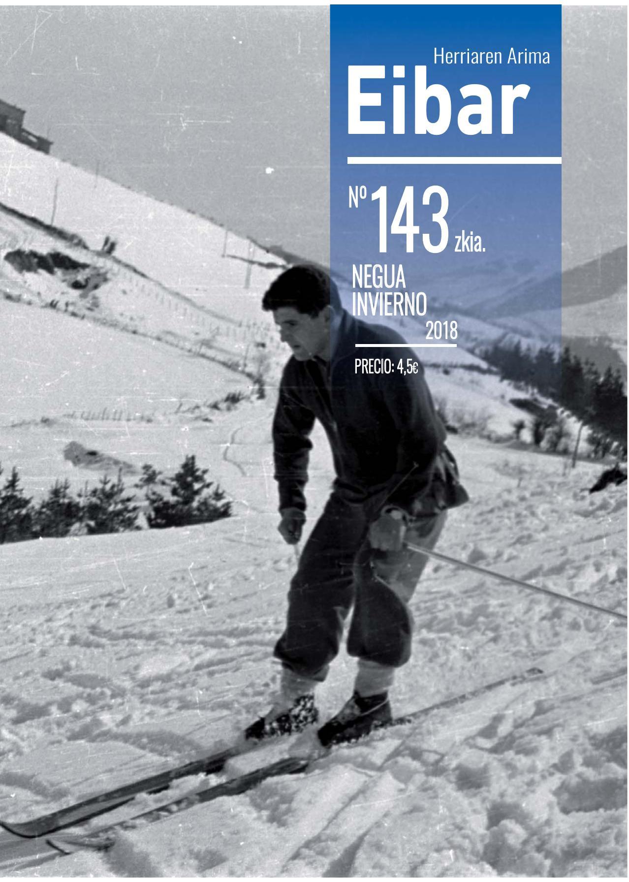 Eibar aldizkariaren azken alea webgune honetan, herriko kioskoetan eta etxeetan: 1952tik lanean etengabe.