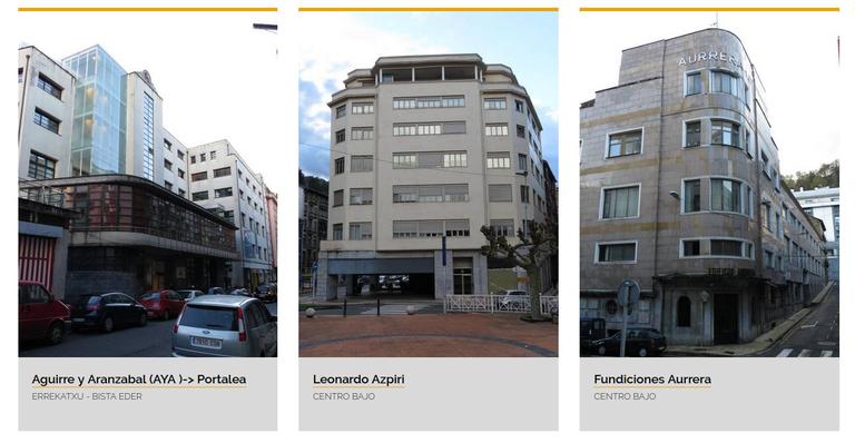 Eibarko eraikinen datu-basea eta webgunea prest daude