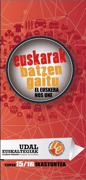 Udal Euskaltegian matrikula epea zabalik
