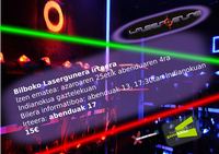 Bilboko Lasergunera irteera