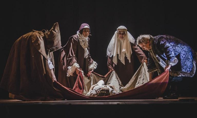 Luis Miguel Garciaren 'Teresa, miserere gozoso' antzezlana gaur, hilak 1, Coliseoan