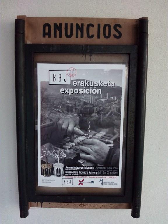 '1905 BOJ 2015' aldi bateko erakusketa berria ikusgai izango da Armagintzaren Museoan