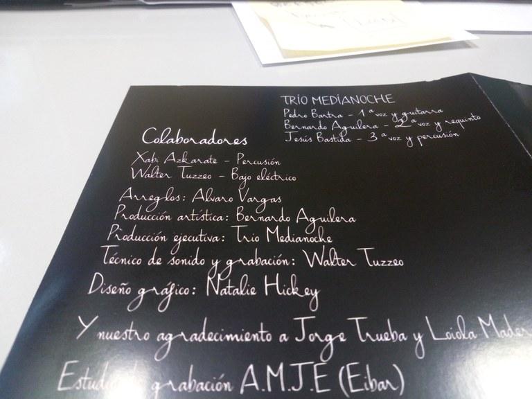 """Trío Medianoche taldeak kontzertua eskainiko du abenduaren 22an Coliseoan """"Nuestras pequeñas cosas"""" disko berriaren abestiekin"""
