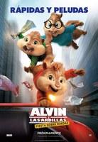 Alvin y las ardillas. Fiesta sobre ruedas.
